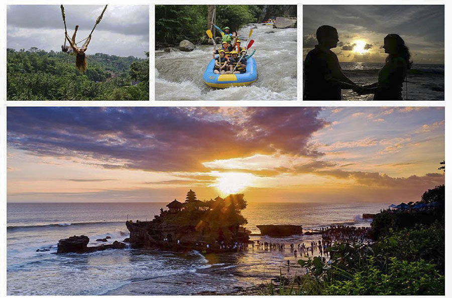 Bali Swing - White Water Rafting and Sunset at Tanah Lot Temple1