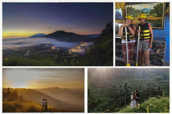 bali private tour sunrise at pinggan village