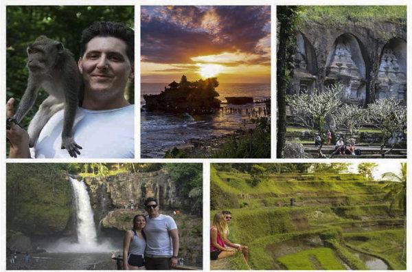 Sunset Tanah Lot Tegenunggan Waterfall Ubud Tour