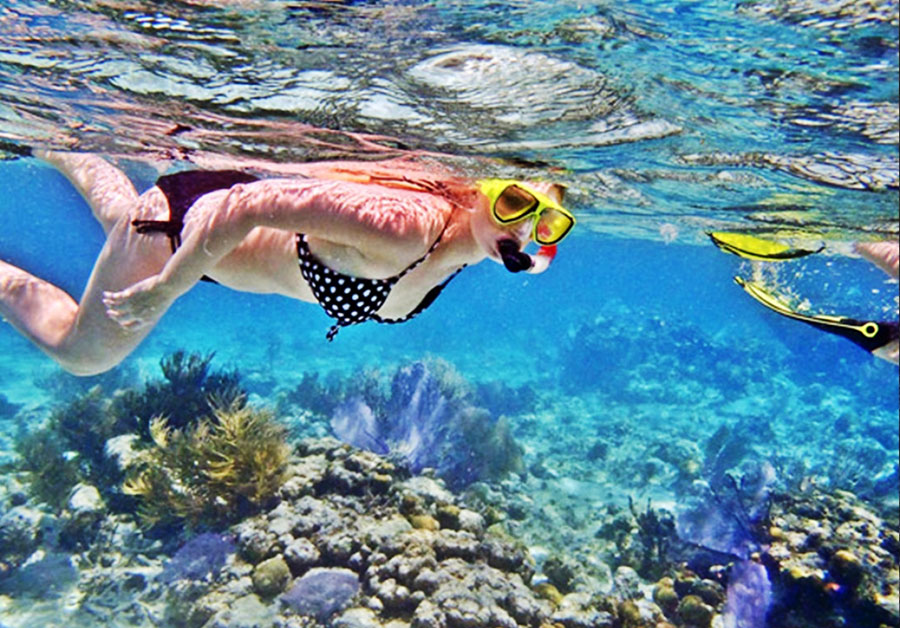 Bali Safest Driver Snorkling at Crystal Bay