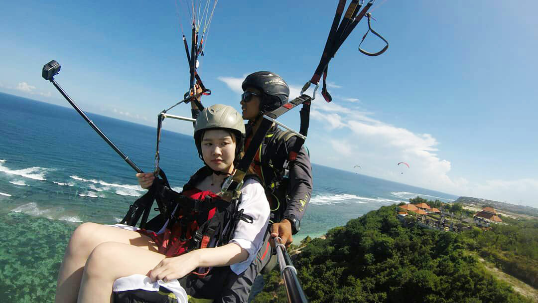 Bali Sightseeing Paragliding Sport Tour Bali Safest Driver