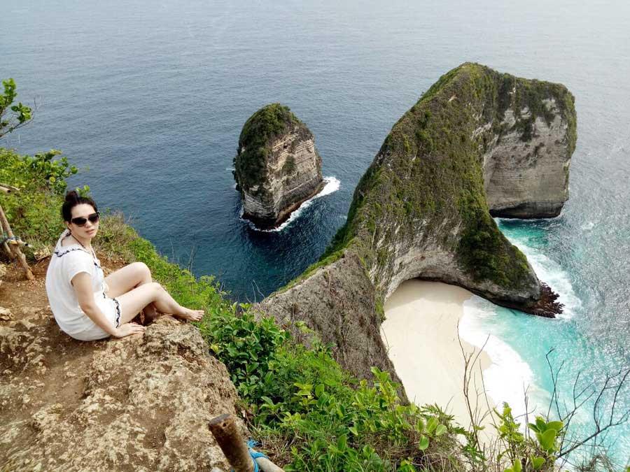 Kelingking Beach Bali Sightseeing Nusa Penida Tour Trip 2 - Bali Safest Driver