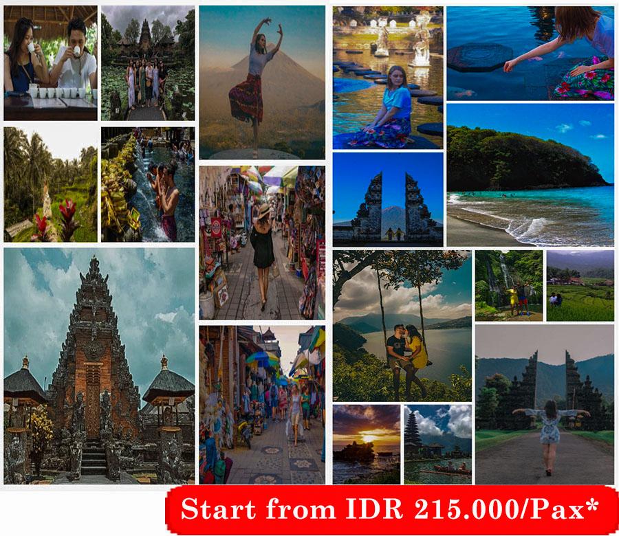 3 Days Bali Tour Package B